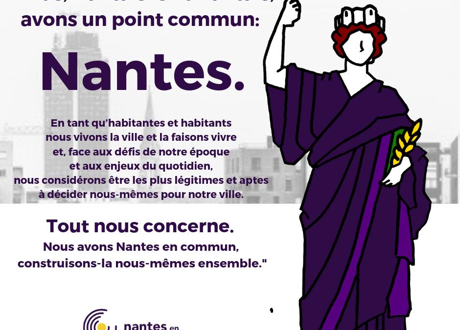 Nous avons Nantes en commun: construisons-la ensemble
