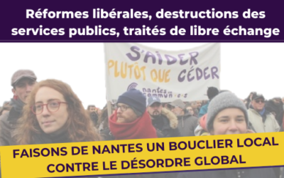 Faire de Nantes un bastion de solidarité