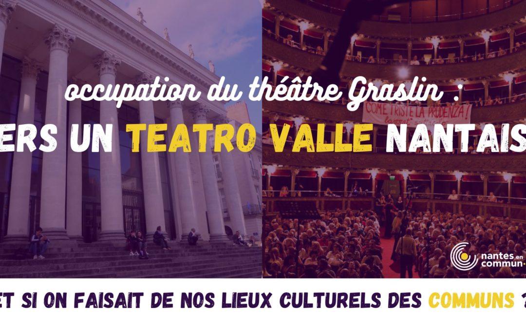 Soutien à l'occupation du théâtre Graslin